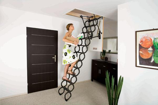 Что необходимо учитывать при выборе лестницы для чердака