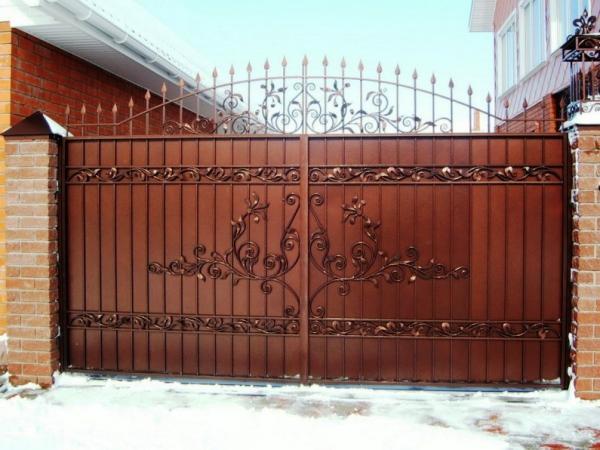 Кованные изделия: ворота, забор,калитка, ограда