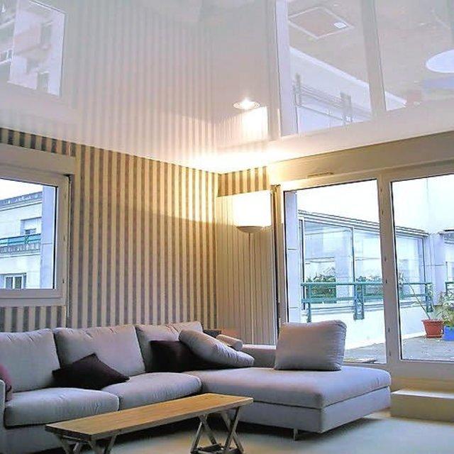 Натяжные потолки – качественная установка, залог уюта в доме