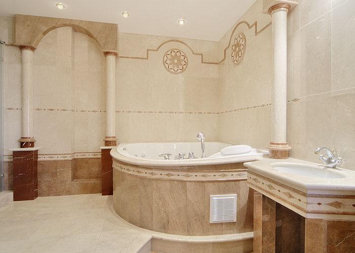 Укладка плитки в ванной самостоятельно