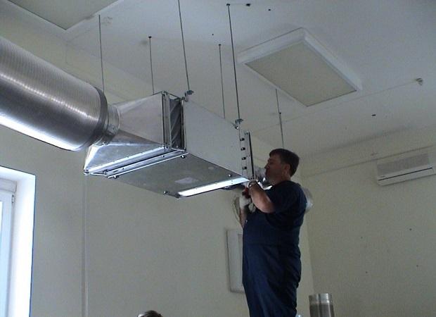 Особенности ремонта систем вентиляции