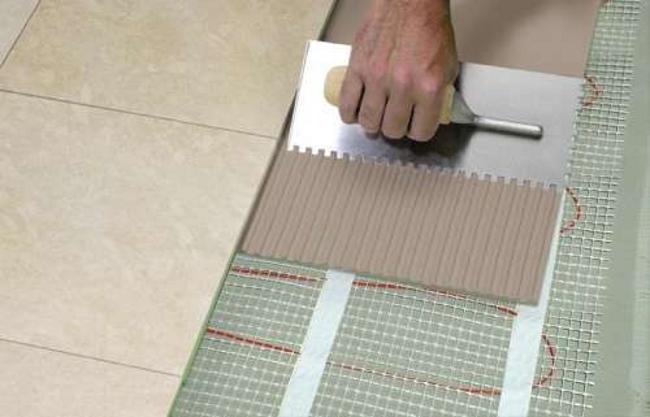 Укладка плитки на кирпичное основание