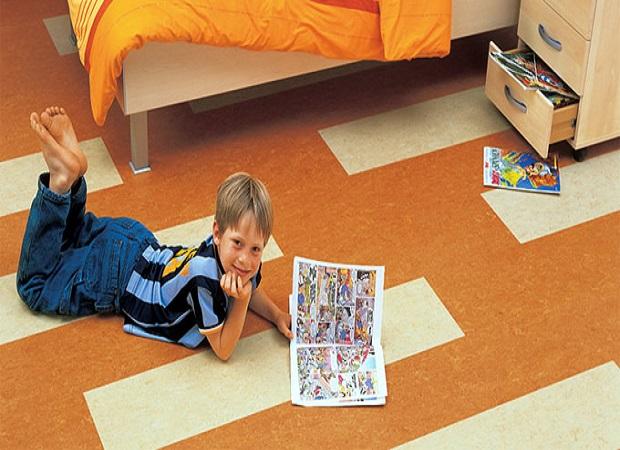 Выбираем напольное покрытие для детской