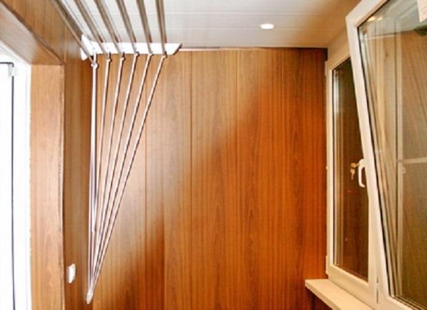 Выбор материала для отделки балкона