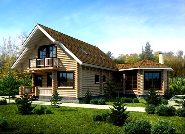 Дома ручной рубки – роскошная дань традиции