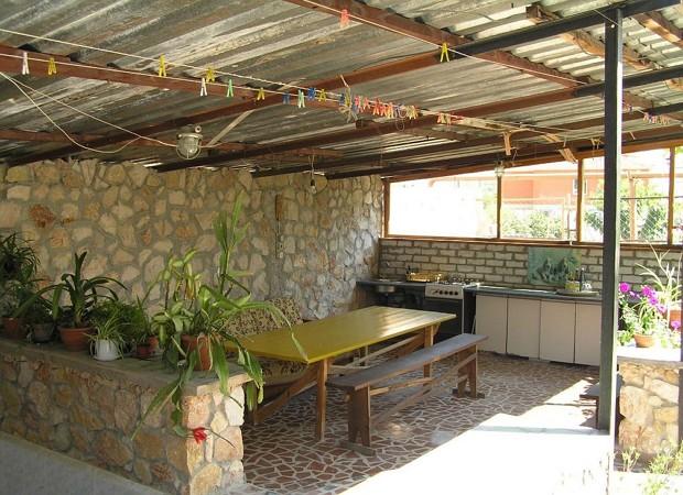 Материалы для отделки летней кухни