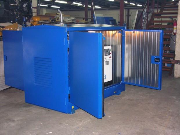 дизельные электростанции контейнерного типа
