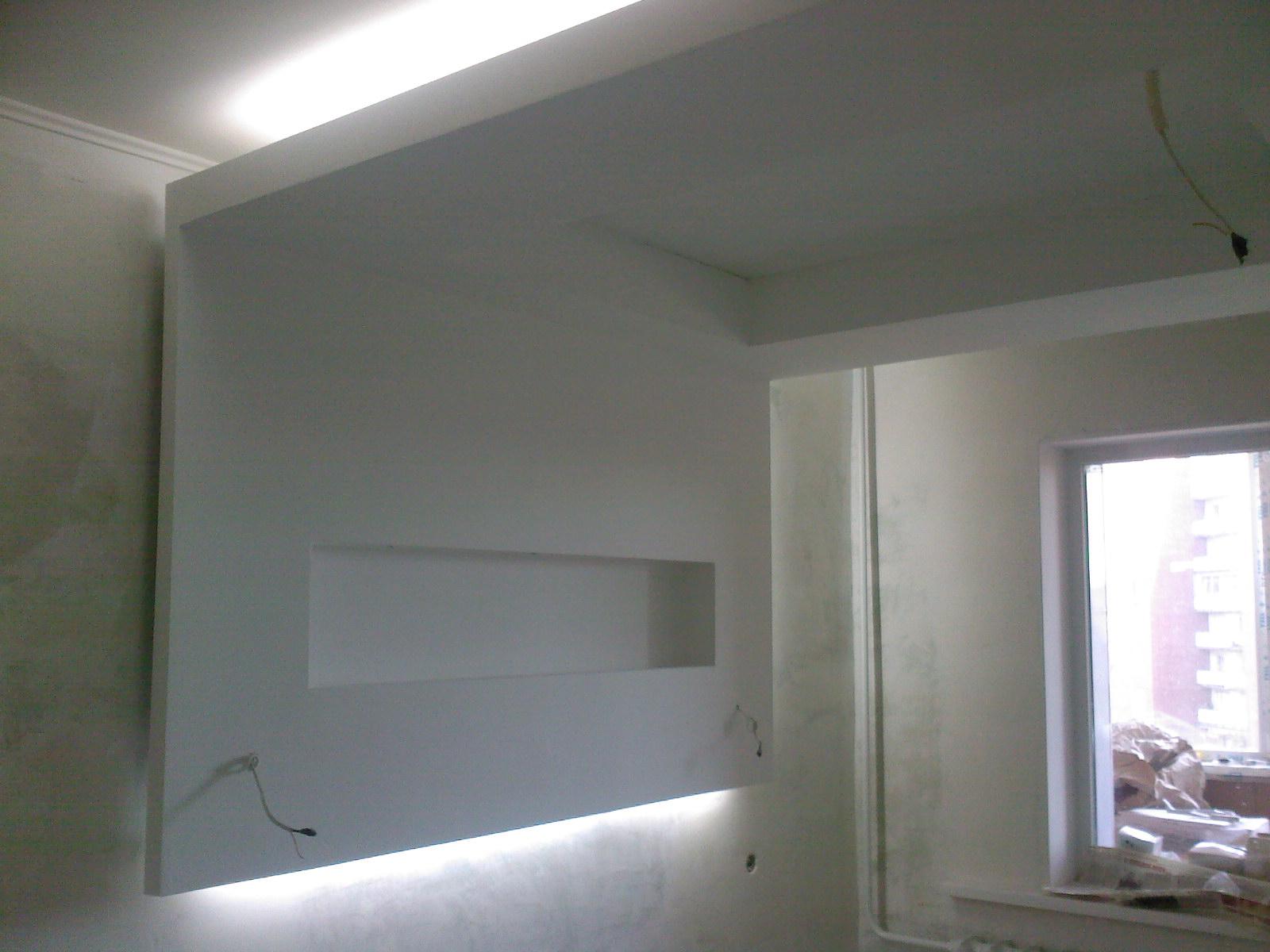 обшиваем стены гипсокартоном