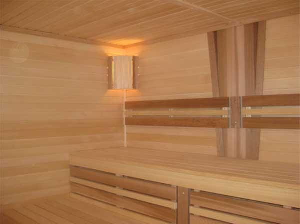 тип потолка для бани