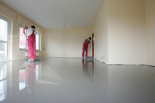 чистовые работы по полу