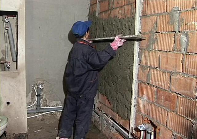Как подготовить стены для штукатурки?