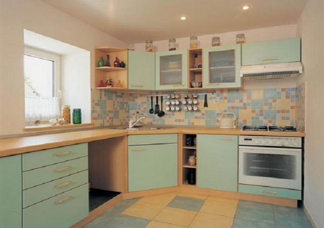 Самые популярные виды отделки стен в кухне