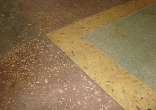 Свойства мозаично-бетонного пола
