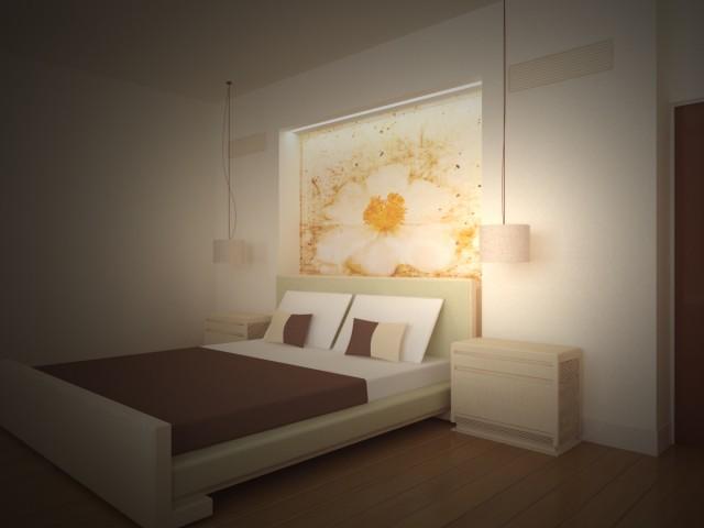 Свет в спальне - как правильно его организовать
