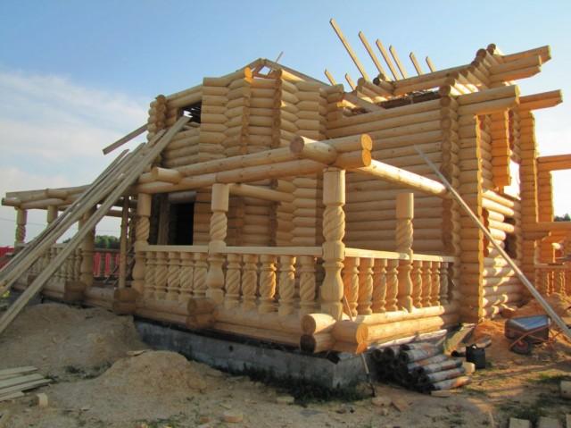 Строительство рубленого дома