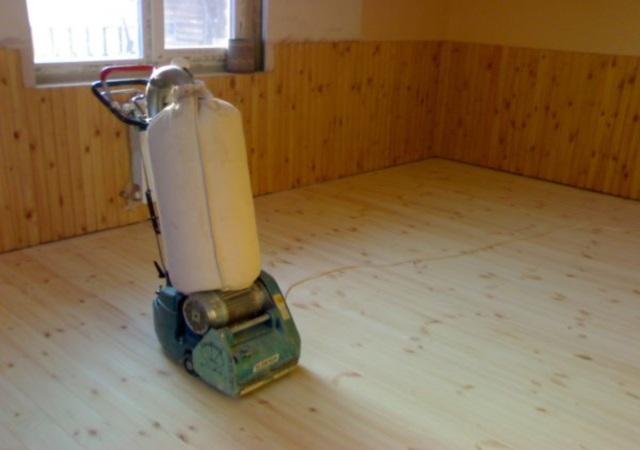 Как обновить вид деревянного пола