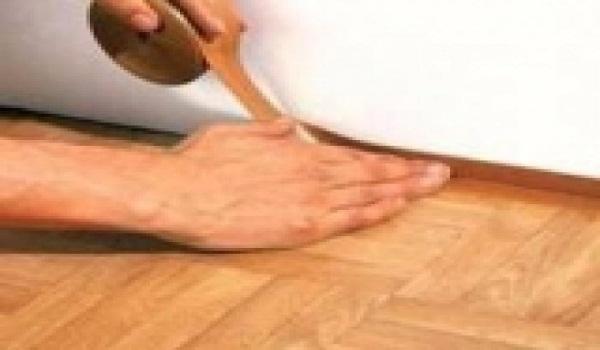 Укладка линолеума своими руками