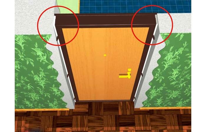 Способы монтажа металлических дверей