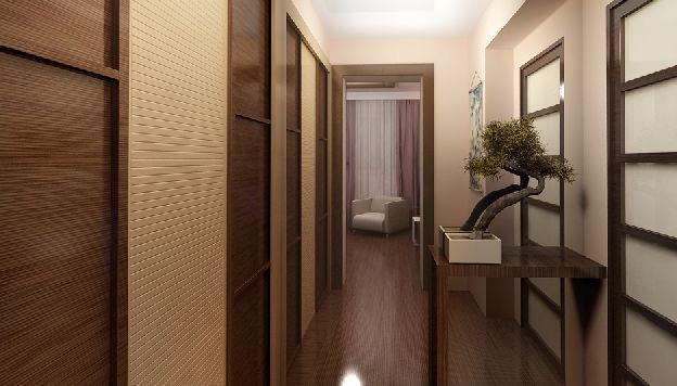 Как украсить коридор