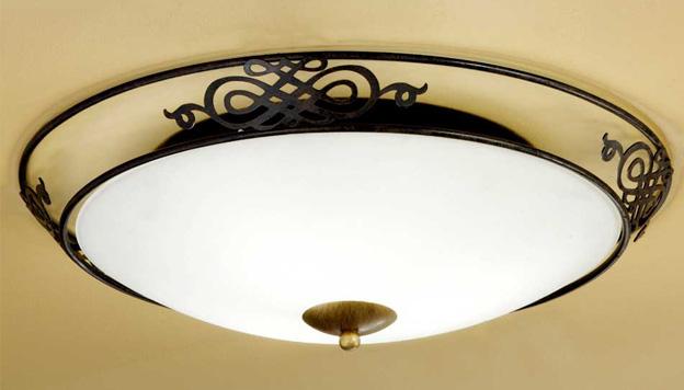 Установка и ремонт потолочного светильника