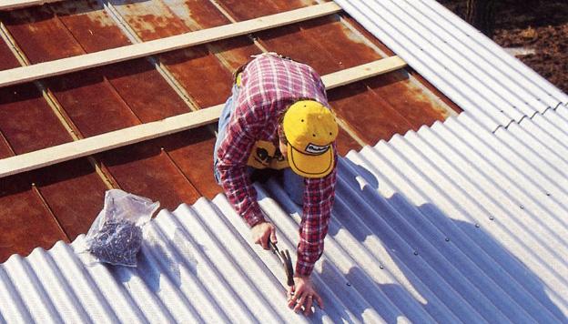 Советы по ремонту крыши из шифера