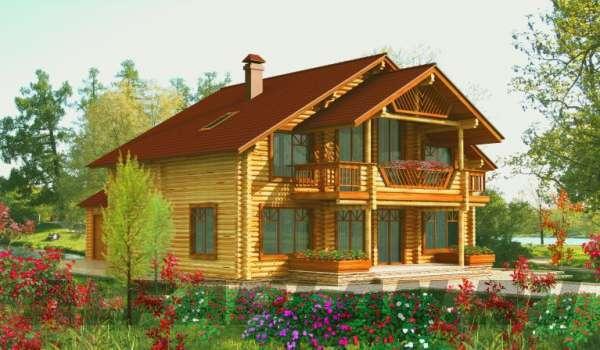 Разнообразие деревянных домов