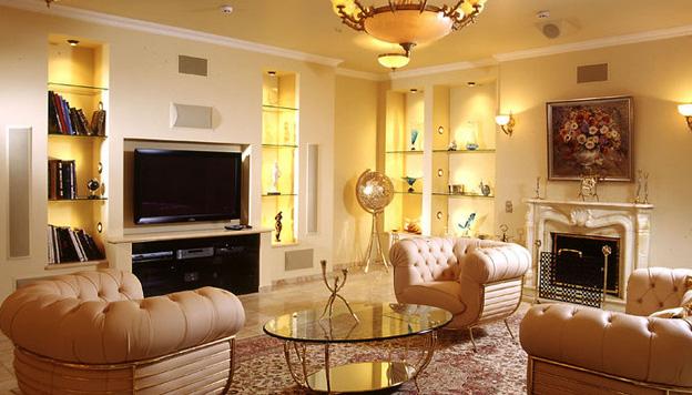 Освещение современной квартиры