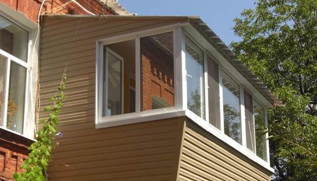 План постройки выноса на балконе