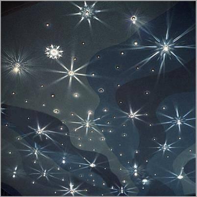 «Звездное небо» на потолке